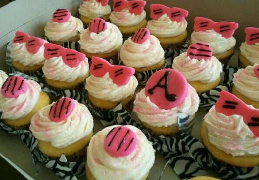 zebra cupcakes